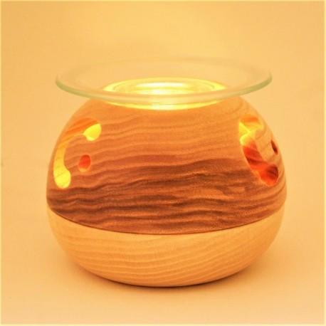 Diffuseur Saturne bois et verre (Huiles essentielles)